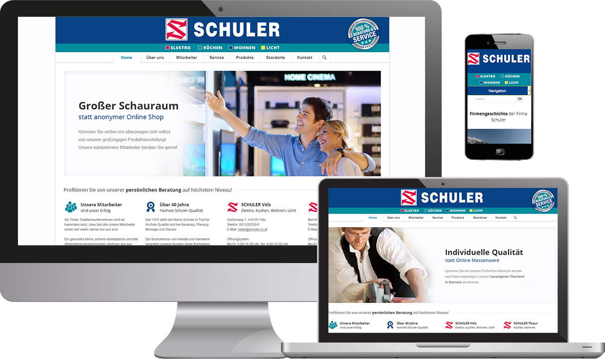 Website Schuler