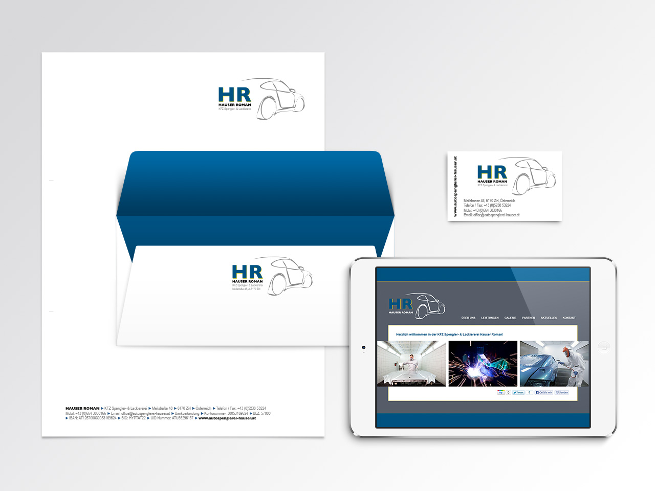 Corporate Design Kfz Spenglerei