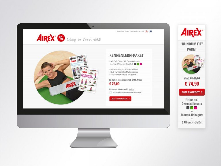 Online Marketing und E-Commerce Betreuung Airex