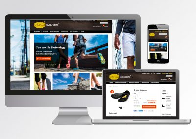 Magento Online Shop für Vibram Five Fingers