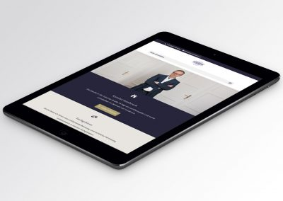 Responsive Webdesign Tablet
